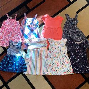 Set of 9 Girl's Size 4T Dresses